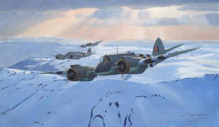 Beaufighter painting