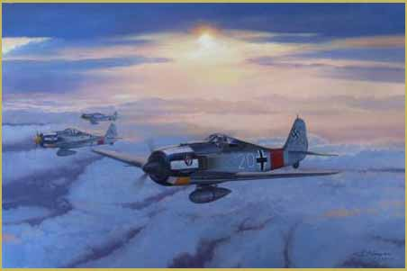 FW-190A7 painting
