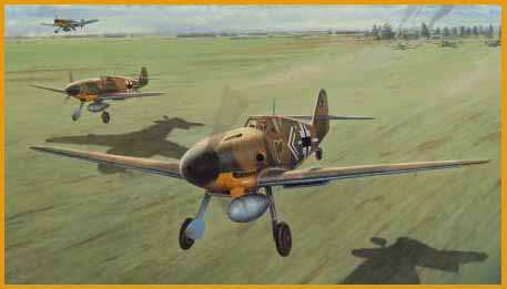 Me109 painting