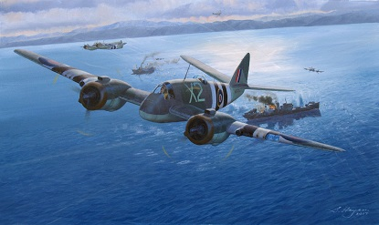 Bristol Beaufighter painting