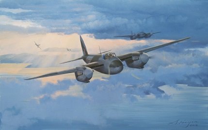 De havilland Mosquito art