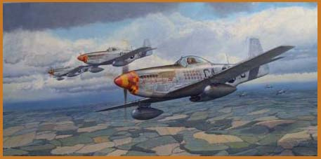 P-51 aviation art