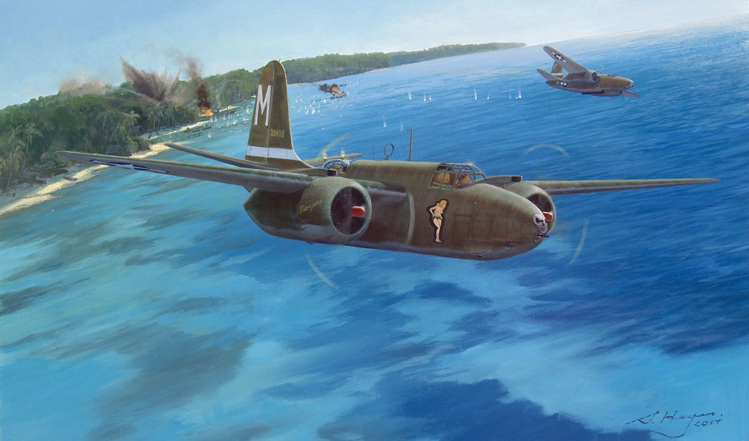 A-20 Boston painting