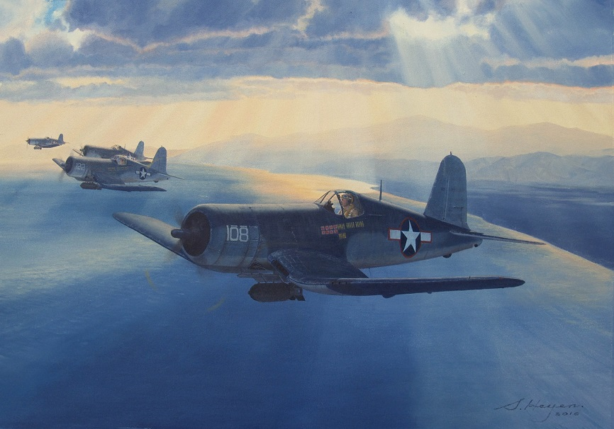 Aviation art by Steven Heyen