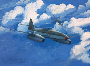 Me262 painting