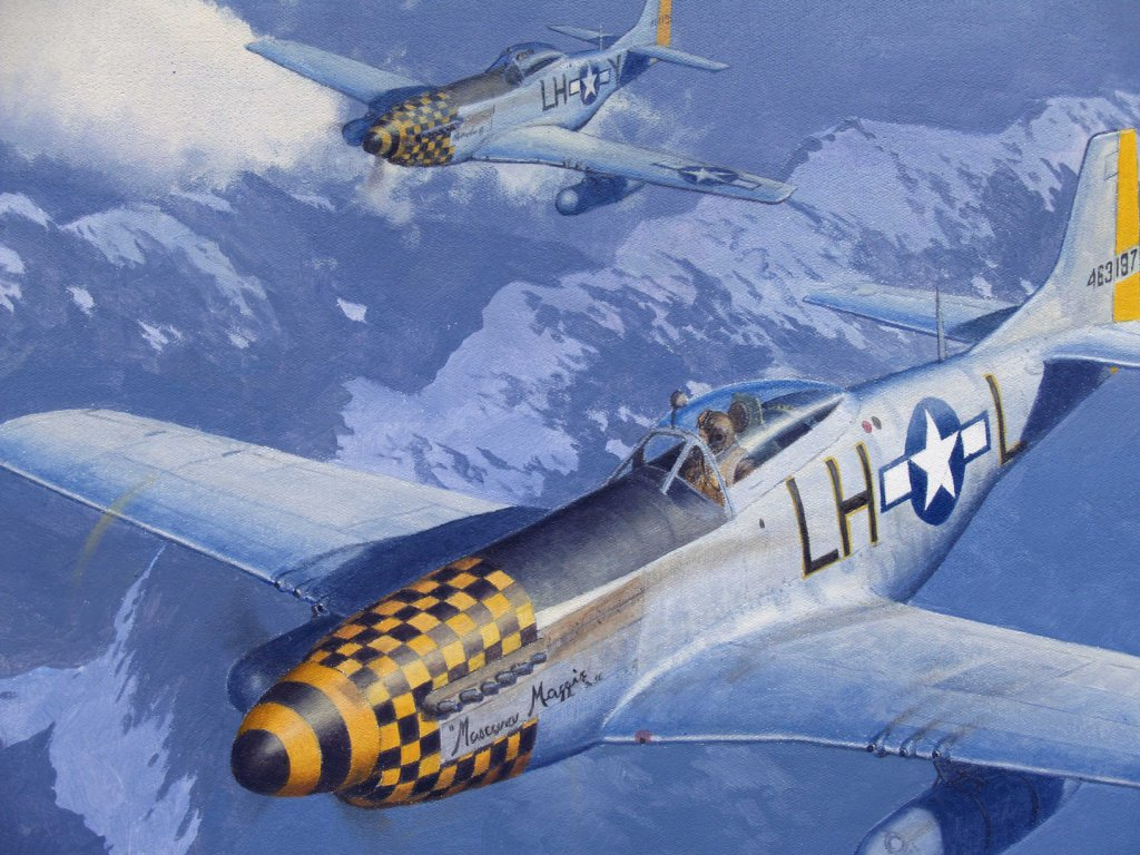 P-51D painting