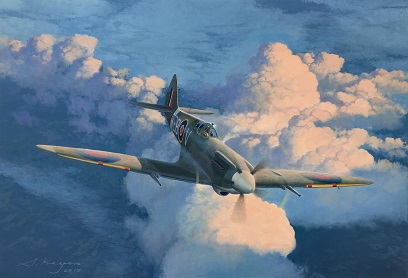 Spitfire Mk14 painting