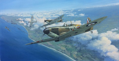 Spitfire painting