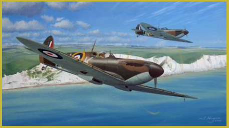Spitfire Mk1 painting