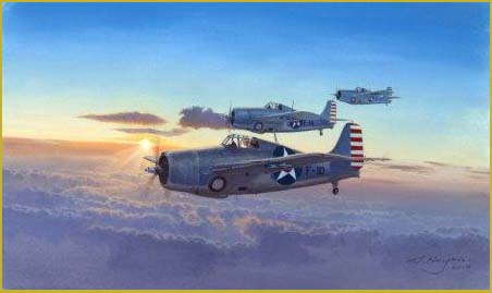 Grumman Wildcat VF-6 painting